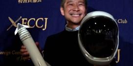 Japanse miljardair zoekt vriendin om mee te nemen op ruimtereis