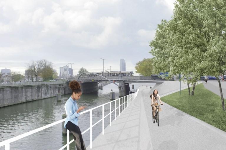 Gijs Van Vaerenbergh hertekent fietsroute langs Brussels kanaal
