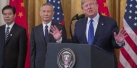 VS en China ondertekenen eerste handelsdeal