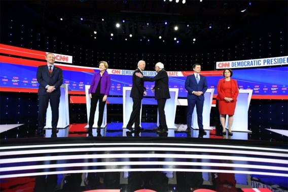 Democraten eensgezind in laatste debat voor eerste voorverkiezing: 'Trump moet weg!'