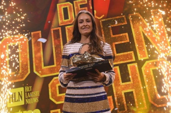 Tessa Wullaert wint voor derde keer Gouden Schoen bij vrouwen