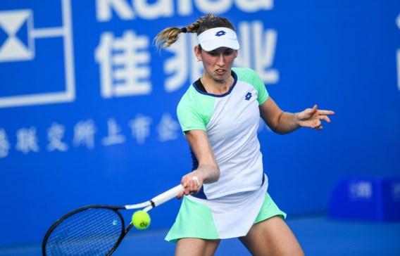 Topreekshoofd Elise Mertens stoot vlot door naar tweede ronde op WTA Hobart