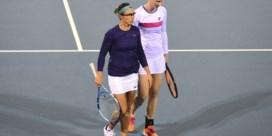 Kirsten Flipkens en Alison Van Uytvanck in halve finales dubbelspel Hobart