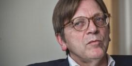 Verhofstadt krijgt leidende rol zonder 'voorzitter' te worden