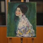 In de muur gevonden schilderij is echte Klimt
