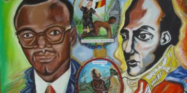 Aan Lumumba is alles onaf, dus overleeft hij in de kunst