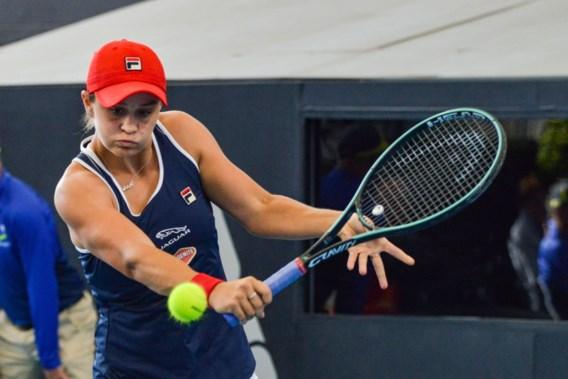 Ashleigh Barty mag met WTA-titel in Adelaide op zak naar Australian Open