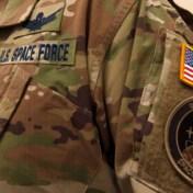 Amerikaanse Space Force bespot voor camouflage-uniformen