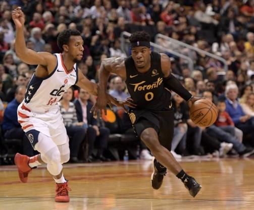 NBA. Toronto Raptors haalt zwaar uit tegen de Wizzards