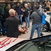Brusselse politie arresteert 185 actievoerders op Autosalon