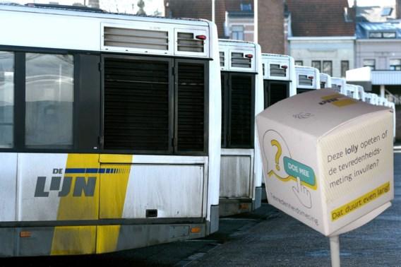 Lolly-actie schiet in het verkeerde keelgat bij De Lijn-chauffeurs
