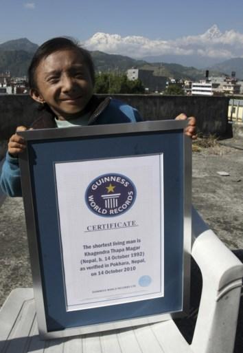 Kleinste mobiele man ter wereld overleden