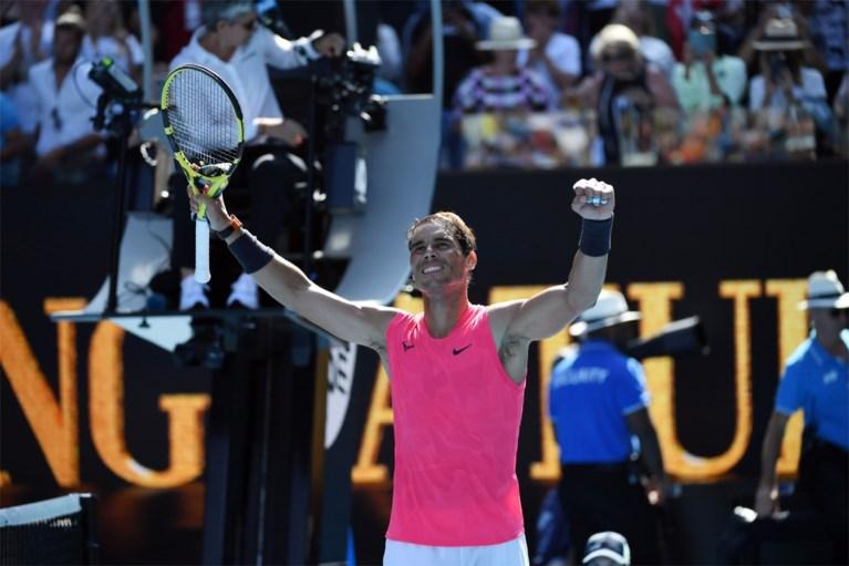 AUSTRALIAN OPEN. Rafael Nadal start als een wervelwind, Maria Sharapova moet meteen inpakken