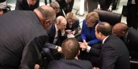 Merkel wil wereld niet in chaos achterlaten