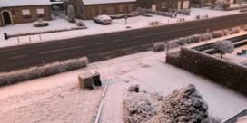 Daar is de eerste 'sneeuw' in Vlaanderen