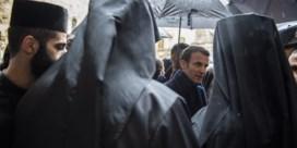 Waarom Macron zo 'woedend' reageerde in Jeruzalem
