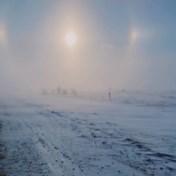 Natuurfenomeen laat drie zonnen zien