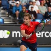 David Goffin overleeft inzinking op weg naar derde ronde Australian Open