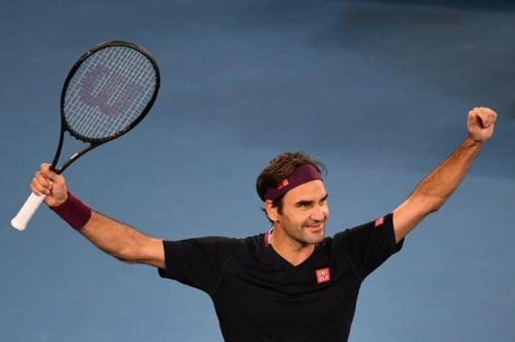 Roger Federer kruipt door het oog van de naald op de Australian Open
