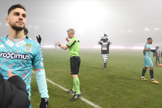Hevige mist spelbreker in Charleroi-KV Mechelen