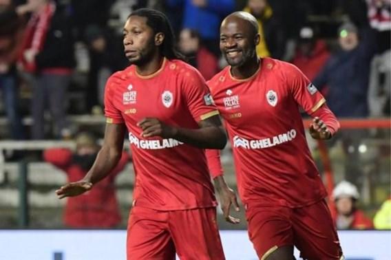 Antwerp is al dertien wedstrijden ongeslagen en blijft druk zetten op Club Brugge