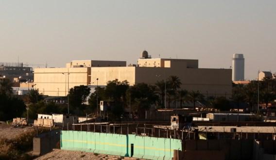 Minstens één gewonde bij raketaanval op Amerikaanse ambassade in Bagdad