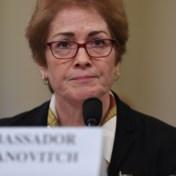 Op tape beveelt Trump ontslag ambassadrice