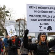 Musk clasht met Duitse klimaatactivisten