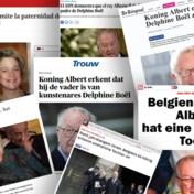 Bekentenis van koning Albert haalt ook in buitenlandse media krantenkoppen: 'Het ging haar altijd om de erkenning'