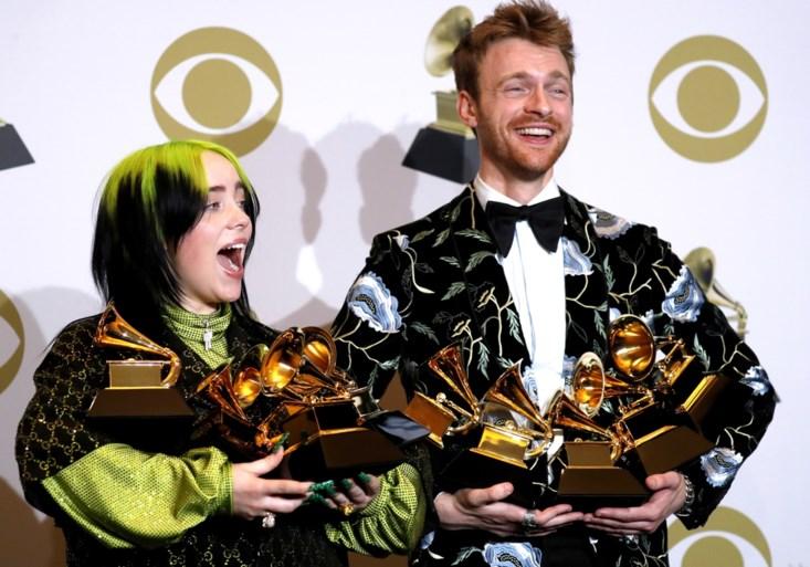 Billie Eilish grote winnaar op Grammy Awards