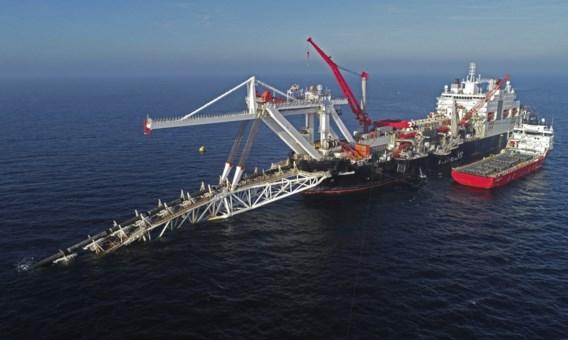 Rusland zal gaspijpleiding Nord Stream 2 zelf afwerken