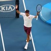 Federer overleeft zeven matchballen en plaatst zich voor halve finales Australian Open