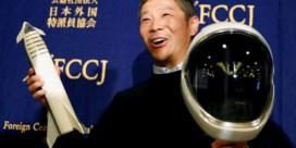 Japanse miljardair staakt zoektocht naar partner voor ruimtereis