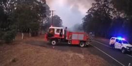 Brandweer toont hoe snel Australiërs verrast worden door hevige bosbranden