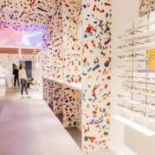 Interieur gemaakt van gerecycleerd Antwerps plastic