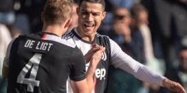 Reeks van Ronaldo blijft duren: Juventus legt de druk opnieuw bij Inter na eenvoudige zege