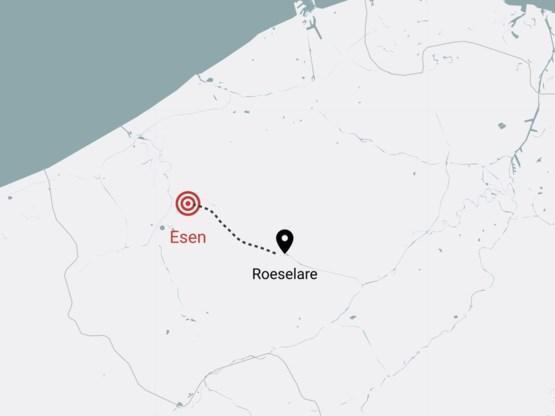 Achtervolging eindigt met ongeval in Esen