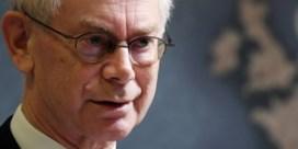 Herman Van Rompuy ziet geen verbetering in gedrag Orban
