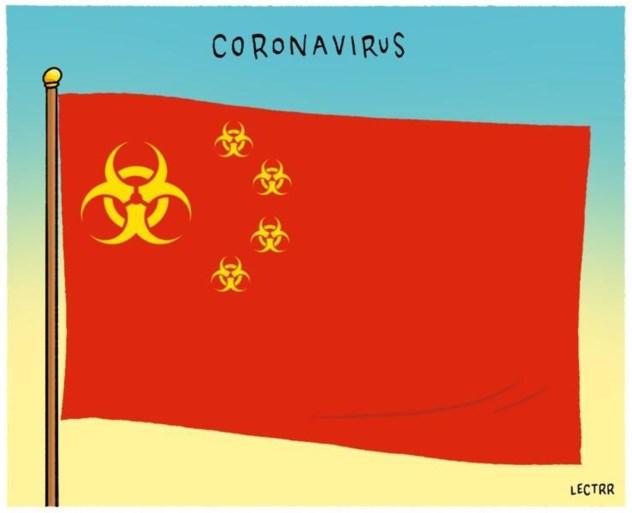 'Coronacartoons' maken China kwaad
