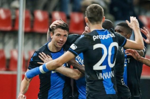 Club Brugge staat in bekerfinale na krappe zege bij Zulte Waregem