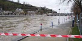 Waterpeil Maas en Semois zou woensdag opnieuw moeten dalen