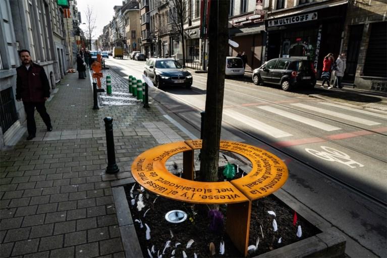 Gedenkteken onthuld voor journaliste Stephanie Verbraekel en andere verkeersslachtoffers