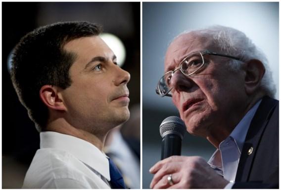 Buttigieg wint voorverkiezingen Iowa nipt van Sanders