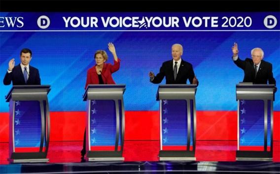 Buttigieg én Sanders scoren tijdens debat in New Hampshire