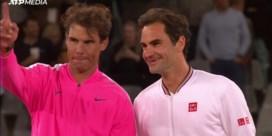 Federer en Nadal nemen het tegen elkaar op voor grootste tennispubliek ooit