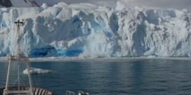 Britse wetenschappers filmen afbrekende gletsjer in Antarctica
