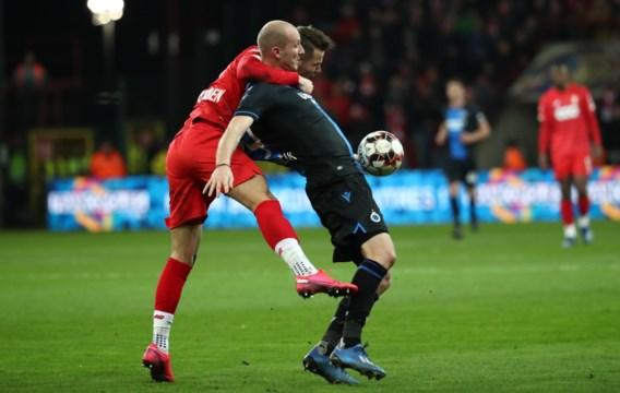 Club Brugge en Standard vechten in plaats van voetballen in vervelende topper
