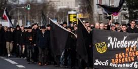Honderden protesteren in Dresden tegen mars van neonazi's