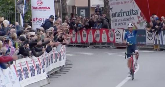 Ciccone wint Italiaanse openingsklassieker Trofeo Laiguelia, 19-jarige Ghirmay eindigt als tweede