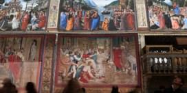 Tapijten met Belgisch kantje voor het eerst in vijf eeuwen samen in Sixtijnse kapel